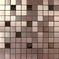 mosaic tile - Aluminium mosaic tiles wall cladding tiles home decoration art deco mosaico
