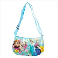 picnic backpack - Frozen colors kids girl powder crystal moon package picnic single shoulder lunch bag christmas gift school cute backpack topB1129