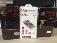 Wholesale Big Discount Tempered glass Screen Protector for iPhone6S plus iphone5S Galaxy S6 edge S5 Note5 Tempered Glass