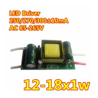 Wholesale 10pcs W w Driver mA LED Driver W w Lighting Transformer For Energy Saiving Lamp Power Supply