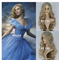 sexy wig - 2015 Movie Cinderella princess long Sexy Grace Womens curlly hair Good quality high synthetic exemption from postage