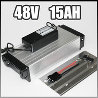 bicycle rear rack - 48V Ah electric bike battery W Rear rack Electric Bicycle samsung lithium Battery with BMS Charger v li ion battery