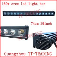 Wholesale 29 w led off road light bar inch CREE led spot beam for truck X4 SUV ATV TRACTOR DC10V V vehicle WORKING LIGHT