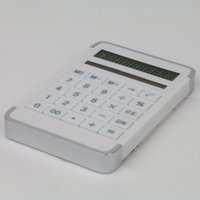 Wholesale Portable Maze Style Solar Powered Calculator Handheld Pocket LCD Counter