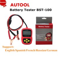 agm battery tester - Genuine AUTOOL BST BST100 Car AGM GEL Battery Charging System Tester Lead Acid Diagnostic V CCA