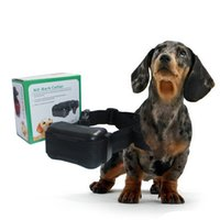 abc dog - Popular No Barking Collar Electric Dog Shock Collar Automatic Ultrasonic Pet Dog Stop Barking Training Collar ABC