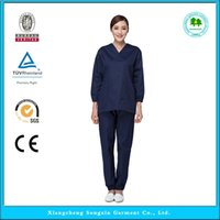 medical scrubs - OEM hospital workwear scrub sets medical clothing hospital uniform with short sleeve hot sale for summer