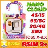 Wholesale Original RSim R SIM R SIM Nano Cloud Plus Unlock Card For IOS x x x x AUTO Unlock Iphone S S C AU Verizon T MOBILE