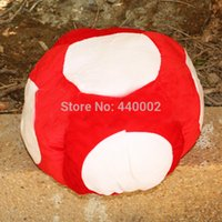 Wholesale Toad Plush Hat Super Mario Bros Red Mario Cap Plush Warm Anime Cosplay Plush Cap Hat