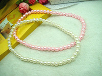 Wholesale High imitation pearls Children Necklace Child Necklace Child Jewelry Children s Accessories kids GiftsA5282