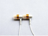Cheap Brand new subwoofer metal in ear earphone for MP3 Mobile phone PC general earphone high-qaulity Super Bass headset DHL Freeshipping