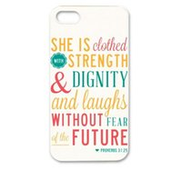 bible verses christian - Christian Theme Bible Verse Proverbs Hard Plastic Mobile Protective Phone Case Cover For iPhone S S C