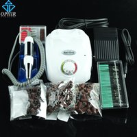 Wholesale OPHIR RPM Electric Nail Drill Machine Manicure Accessories Handle Drill Bits Pedicure Kits To Nail Tools_KD149