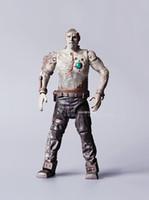 age skulls - Genuine bulk Fan Haixin Supernatural Frankenstein Franken action figure version transparent skull model