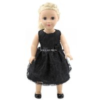 american girl doll clothes - DP MG024 Best selling doll accessories high quality Black color Inch American Girl Doll Clothes baby dolls with clothes
