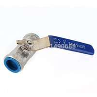 Wholesale Top Quality New inch RP RB Ball Valve Female NPT Stainless Steel Vinyl Handle WOG1000 For Water Oil Gas F to F