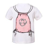 Wholesale Wl Monsoon Fashion Girl T shirt Printed Designer Summer New Arrival Children T Shirts for Girls Kids Tops T shirts Girls Factory Sale