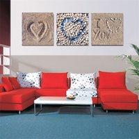 beach decor - Contemporary Art Paintings Beach Pattern Wall Art Prints for Model Living Room Canvas Art Modern Wall Decor Pieces