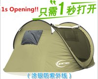 Wholesale hot selling anti UV Waterproof Outdoor Tent Portable Shelter Tent Camping tent for persons silver coating fabric polyestr and oxford