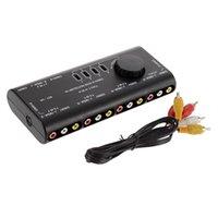 av signal switcher - 1Set in AV Audio Video Signal Switcher Splitter Selector Way Selector C1Hot New Arrival