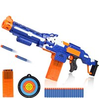 arma games - 9925 Plastic Pistol Bullet Nerf Gun Arma Toys CS Game Shooting Soft Air Gun Airgun Revolver Chrismas Gift for Kids