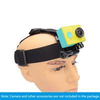 Wholesale Go pro Harness Adjustable Elastic Adjustable Head Strap for Xiaomi yi Action Camera Gopro Hero Accessories