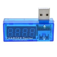 Wholesale USB Charger Doctor Voltage Current Meter Mobile Battery Tester Power Detector
