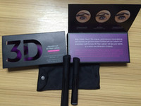 waterproof mascara - 2015 New Moodstruck version D Fiber Lashes Waterproof Double Mascara D FIBER LASHES Set Makeup Eyelash set