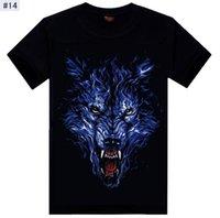 Fábrica de atacado frete grátis nova moda T-shirt 2015 homens homens verão calções de o pescoço t shirt 3d trama de impressão homem camisetas tops para homens
