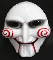 Wholesale Cheap Halloween Mask The Saw Masks Party Supplies Party Horror Mask Scary White mask