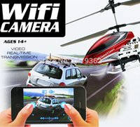 apple rc helicopter - New RC Helicopter G CH U16W Use For Apple Iphone Wifi Aircrafte With Camera And Gyroscope RC Toy VS S107 H107 V959