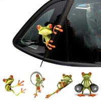 Wholesale hot sale d funny frog car sticker Personalized Waterproof Sticker Decoration Car
