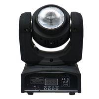 beam lighting disco - 40W Led Moving Head Beam light RGBW Quad Color W LED LAMP Disco Light Led Dj Effect Light Stage lighting