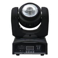 Rgbw conduit faisceau mobile de la tête Avis-40W mini conduit conduit la tête de faisceau de lumière RGBW Quad couleur 40W LED lampe de la lumière LED conduit l'effet de lumière Dj éclairage de scène