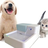 Wholesale Premium Fountain Uv Purification New Gift UV Bactericidal Pet Water Fountain Double Activated Carbon Filter for Small Medium animals