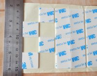 adhesive foam squares - M PE Foam double sided adhesive tape white color MM thickness mm mm square