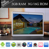 Wholesale 9 inch Quad Core MTK6582 andriod Tablet pc G phone call Dual SiM Cameras MP Flash GB GB IPS Bluetooth GPS Tablet