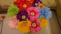 dried flowers - Gerbera Fuso ju rich flowers artificial flower silk flower dried flowers home decoration gifts