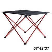 Wholesale 8pcs cm Small Portable Folding Outdoor Table Urltra Light only about g piece