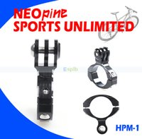 Wholesale Bike Cycle Handlebar Holder Bicycle Mount Holder Adapter Go Pro Set Accessory For Camera GoPro HD Hero