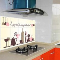 Wholesale 3D Smooth Wall Stickers Clean Removable Wall Stickers for Kitchen Environmental Protection PVC Material Hot Sale AY3005