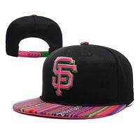 Wholesale SF Baseball Snapbacks Giants Caps Fashion Ball Caps Adjustable Hats Cheap Snap Back Hats Fashion Flat Brim Caps Snap Backs Summer Caps