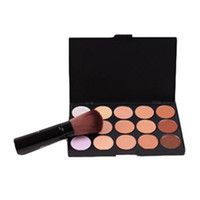 Wholesale S5Q Colors Professional Salon Party Concealer Cream Foundation Makeup Palette AAAFDS