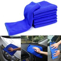 Wholesale Brand New Microfiber Absorbent Towel Car Clean Wash Polish Multi function Towel Blue FG08120