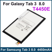 Wholesale Genuine Original T4450E Battery for Samsung Galaxy Tab T311 T310 T315 mAh Internal Replacement Batteries