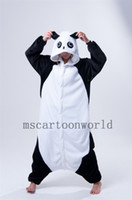 Wholesale Kongfu Panda Animal Onesie Fleece Pajamas Onesie Jumpsuit Sleepwear Romper Women Ladies One Piece Pyjama Anime Cosplay Animal Costumes