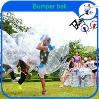 Cheap Wholesale-CE Dia 1.2m PVC Inflatable Human Hamster Ball Suit,Bubble Football,Zorb Body,Bumper Ball,Loopy Ball