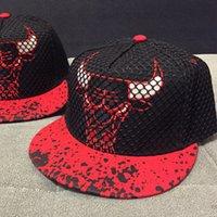 Black red bull caps mitchell and ness hats - Gorras Snapback Hats For Men Mitchell and Ness Hip hop Bull Baseball Caps Five Panel Cap Polo Hat Bone aba Reta mx0298