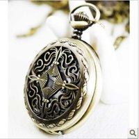 antique chestnut - FG Free Shopping Pocket watch antique fashion High Quality retro alloy water chestnut pocket watch
