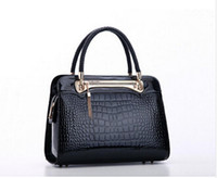 Wholesale New Arrival Women Leather Handbag Crocodile Retro Bag Leisure Bag Casual Ladies Bag Tote Bolsas Feminina A
